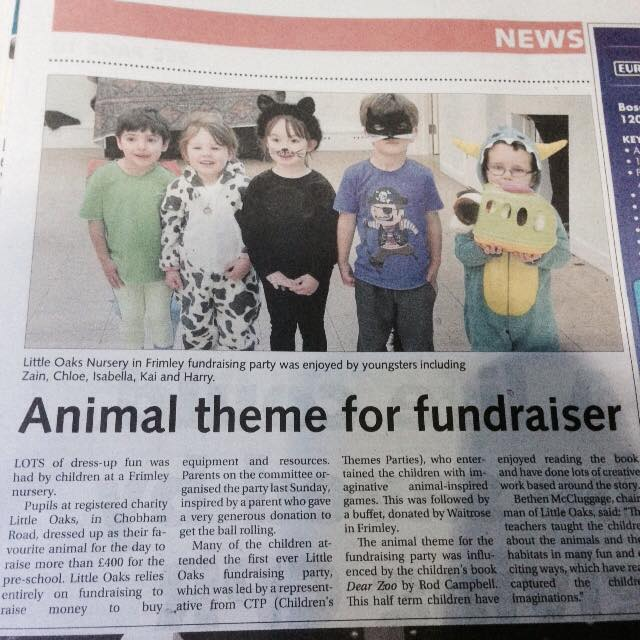 party fundraiser article Nov 14